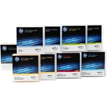 Pachet Casete date HP LTO-6 Ultrium 6.25 TB BaFe RW Eco Pack (No Case) Unlabelled Data Cartridge (20 pk) C7976BH