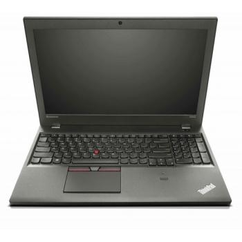 "Laptop Lenovo ThinkPad W550s, 15.5"" 3K (2880x1620), IPS-Touch, LED- Backlight, Intel Core i7-5500U (2.4GHz, up to 3.00GHz, 1600MHz, 4MB), video dedicat nVidia Quadro K620M 2GB, RAM 16GB DDR3 1600Mhz (2x8GB), SSD 512GB, no ODD, Card Reader 4-1, boxe s"