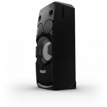 Sistem audio Sony MHC-V7D, 1440 W, subwoofer, receptie bluetooth, NFC, USB, Compozit, dimensiuni 34 cm x 92.4 cm x 32 cm, Mega Bass, greutate 19 kg, negru