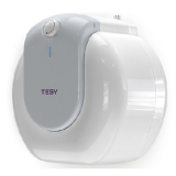 Boiler electric Tesy Compact Line TESY GCU 1015 L52 RC, putere 1500 W, capacitate 10 L, presiune 0.9 Mpa, izolatie 19 mm, instalare sub chiuveta, control mecanic, clasa energetica C, protectie sticla ceramica, timp incalzire 23 min, termostat reglabil, cu