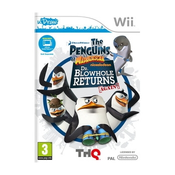 THQ Penguins Dr Blowhole- Wii Actiune | 3 An | THQ-WI-PENGUDRB | THQ