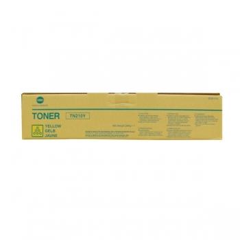 Cartus Toner Konica Minolta TN-210Y Yellow 12000 pagini for Minolta Bizhub C250, C250P, C252, C252P 8938-510