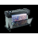 """HP DesignJet T730 36in Printer; 36"""", max 25sec/pag, 82 print A1/ora (linii), max 2400x1200dpi, 1GB RAM, HP GL/2, HP-RTL, HP PCL 3 GUI, TIFF, JPEG, CALS G4, URF, dimensiune media : 279 - 914mm latime rola, coli A4 - A0, grosime max 0.3mm, cutter autom"""