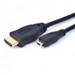 Cablu HDMI - MicroHDMI Gembird CC-HDMID-6 Male - Male 1.8 m