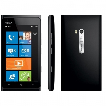 Telefon Mobil Nokia Lumia 900 Black 16GB 3G Gorilla Glass NOK900BLK