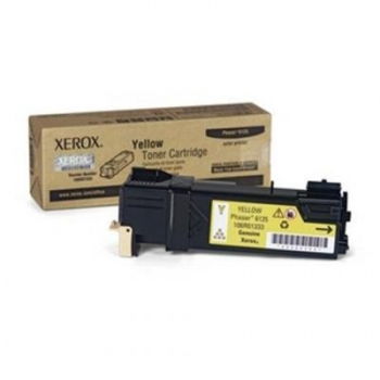 Cartus Toner Xerox 106R01458 Yellow 2500 Pagini for Phaser 6128 MFP, Phaser 6128 MFP/DN