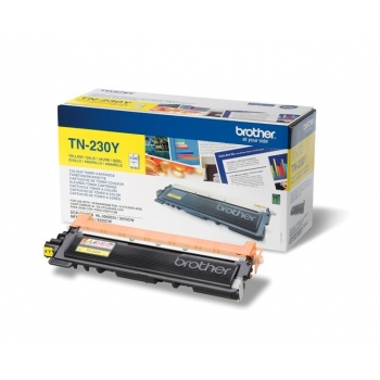 Cartus Toner Brother TN230Y Yellow 1400 pagini for DCP-9010CN, HL-3040CN, HL-3070CW, MFC-9120CN, MFC-9320CW