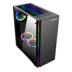 Carcasa Floston Dark Brushed RGB
