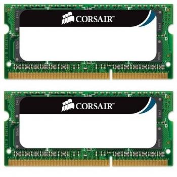 Memorie RAM Laptop SO-DIMM Corsair KIT 2x4GB DDR3 1333MHz PC3-10600 CMSO8GX3M2A1333C9