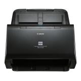 Scanner Canon DRC240, dimensiune A4, tip sheetfed, duplex, viteza de scanare: Alb-negru : 45 ppm/90ipm, Color: 30ppm/60ipm, rezolutie optica 600dpi, senzor CIS, alimentator 60 coli, software inclus: Driver ISIS/TWAIN, CapturePerfect, CaptureOnTouch, eCopy