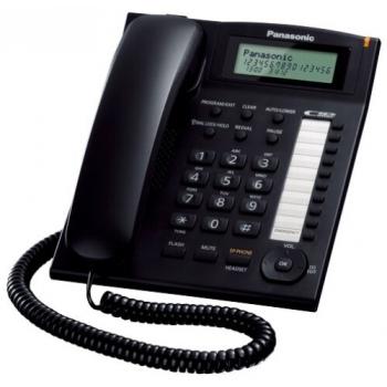 Telefon analogic Panasonic KX-TS880FXB Caller ID inlocuitor TS600 negru