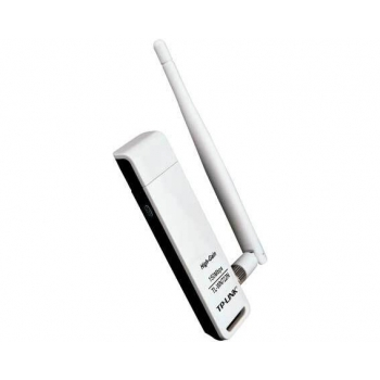 Adaptor Wireless N TP-LINK TL-WN722N 150Mbps USB 2.0