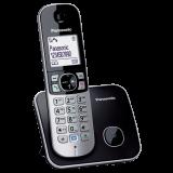 TG6811FXB, telefon DECT, ecran LCD de 1,8 inch cu lumina de fundal alba, agenda 120 numere, caller ID 50 numere, sonerie polifonica receptor, functie de reducere a zgomotului de fundal, posibilitate de partajare a agendei, posibilitate de blocare a apelur