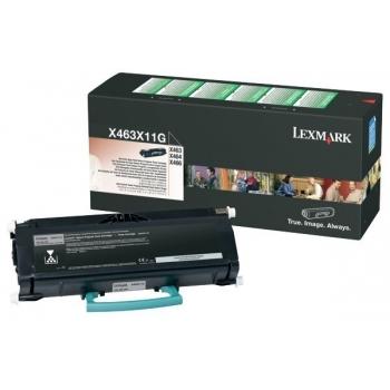 Cartus Toner Lexmark X463X11G Black Return Program 15000 pagini for X463DE, X464DE, X466DE, X466DTE, X466DWE