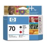 Cap Printare HP Nr. 70 Matte Black & Red for Designjet Z2100 24', Z2100 44' Q6677A, Z2100 44' Q6677C, Z3200 24', Z3200 44', Z3200PS 24', Z3200PS 44', Z5200PS, Photosmart B8850, Pro B9180 C9409A