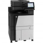 HP Color LaserJet Flow MFP M880z+, A3, up to 45 ppm A4/letter, up to 4100 page capacity, built in networking, automatic duplexing, copy and scan, flow capabilities