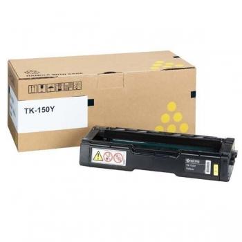 Cartus Toner Kyocera TK-150Y Yellow 6000 Pagini for Kyocera Mita FS-C1020 MFP