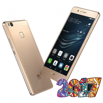 "Smartphone Huawei P9 Lite (2017) Gold Dual SIM 5.2"" IPS 1080 x 1920 Cortex A53 Octa Core 1700 + 2100 MHz 3GB RAM memorie interna 16GB Camera Foto 12MPx Android v6.0"