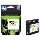 Cartus Cerneala HP Nr. 933XL Yellow 825 Pagini for Officejet 6100 ePrinter, Officejet 6600 e-All-in-One, Officejet 6700 Premium e-All-in-One CN056AE