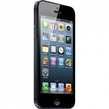 "Telefon Mobil Apple iPhone 5 Black 4G 4"" 640 x 1136 A6 Dual Core 1,2 GHz memorie interna 32GB Camera Foto 8MPx iOS6 APPLEI5-32GB-B"
