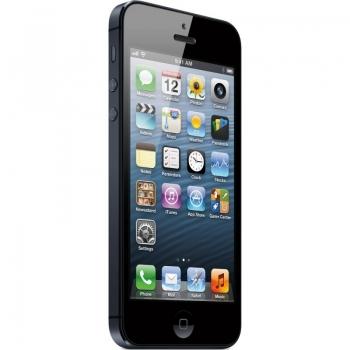 "Telefon Mobil Apple iPhone 5 Black 4G 4"" 640 x 1136 A6 Dual Core 1,2 GHz memorie interna 32GB Camera Foto 8MPx iOS6 APPLEI5-32GB-B"