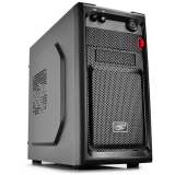 Carcasa Mini Tower Deepcool Smarter 1x USB 2.0 1x USB 3.0 2x 3.5 mm jack black DP-SMARTER