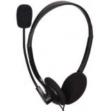 Casti Gembird MHS-123 cu microfon si control de volum Black