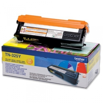 Cartus Toner Brother TN325Y Yellow capacitate 3500 pagini for DCP-9055CDN, HL-4140CDN, HL-4150CDN, MFC-9460CDN