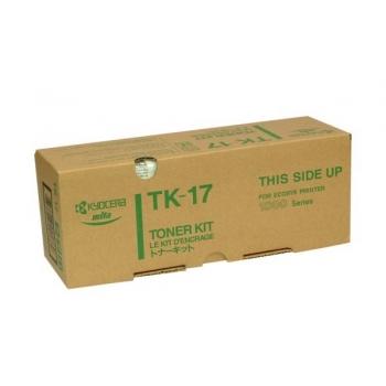 Cartus Toner Kyocera TK-17 Black 6000 Pagini for Kyocera Mita FS-1000, FS-1000+, FS-1010, FS-1050