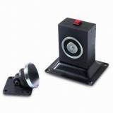 Electromagnet de retinere usa deschisa YD-605 Retentie 50kgf buton de deblocare, montare pe podea