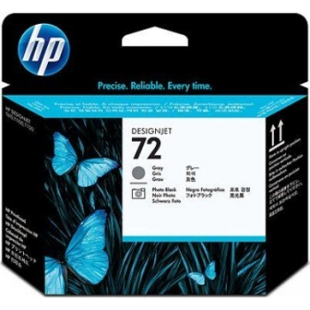 Cap Printare HP Nr. 72 Grey & Photo Black for DesignJet T1100, DesignJet T610 C9380A