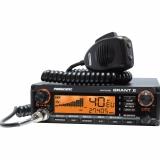 Statie radio CB President GRANT II ASC - HIGH 40 CH, AM/FM/USB/LSB, Multi Norme, Vox, Roger Beep, SWR, ANL, NB, HI-CUT TXMU510