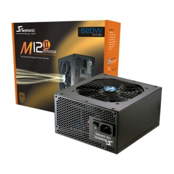 Sursa Modulara Sea Sonic M12II-620 Bronze 620W 6x Molex 9x SATA 1x PCI-E PFC Activ OVP, OPP, SCP 80+ Bronze SS-620GM