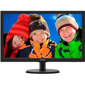 "Monitor LED Philips 21.5"" V-Line 223V5LSB2 Full HD 1920x1080 VGA 223V5LSB2/10"