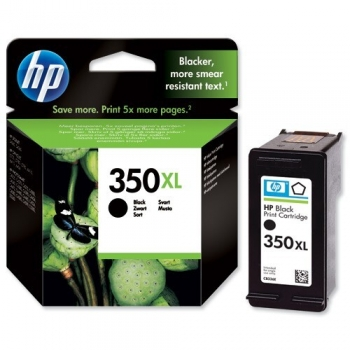 Cartus Cerneala HP Nr. 350XL Black Vivera Ink 1000 Pagini for Deskjet D4260, D4280, D4360, Photosmart C4480, C4580, OfficeJet J5780 CB336EE