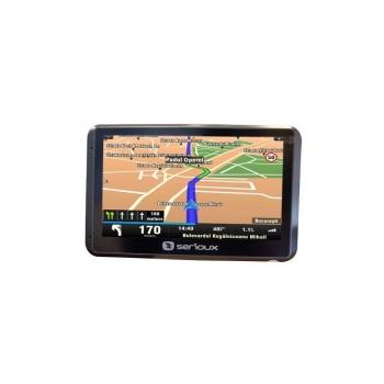 Navigator GPS Serioux UrbanPilot Q550T2 + Harta full europa Mireo Don t Panic + Actualizari pe viata a hartilor