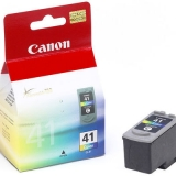 Cartus Cerneala Canon CL-41 Color 155 Pagini for Pixma IP1200, IP1300, IP1600, IP1700, IP1800, IP1900, IP2500, IP2600, MP190, MP210, MP220, IP2200, MP150, MP160, MP170, MP180, MP450, MP460 BS0617B001AA