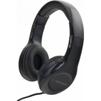 Casti Esperanza Hip-Hop EH138K Black cu control volum 5901299903742