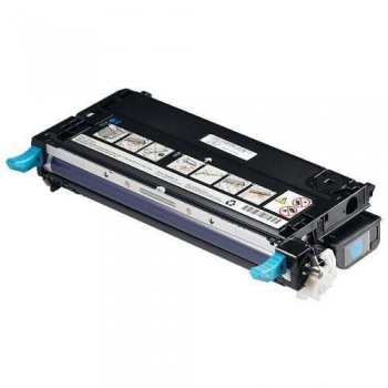 Cartus Toner Dell RF012 / 593-10166 Cyan 4000 Pagini for Dell 3110CN, 3115CN