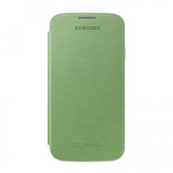 Husa Samsung Flip Cover pentru i9505 Galaxy S IV Green Lime EF-FI950BGEGWW