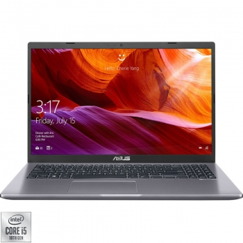"Laptop ASUS X509JA-EJ028 cu procesor Intel Core i5-1035G1 pana la 3.60 GHz 15.6"" Full HD 8GB 256GB SSD Intel UHD Graphics Free DOS Slate Grey"