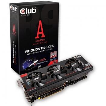 Placa Video Club 3D AMD R9 290X 4GB GDDR5 512bit PCI-E x16 3.0 DVI HDMI DisplayPort CGAX-R929X8SO