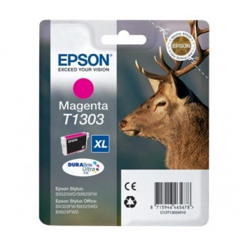 Cartus Cerneala Epson T1303 Magenta 10.1ml for Stylus Office BX320FW, B42WD, BX525WD, BX535WD, BX625FWD, BX630FW, BX635FWD, BX925FWD, BX935FWD, SX525WD C13T13034010
