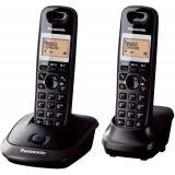 Telefon DECT Panasonic KX-TG2512FXT Caller ID dublu negru