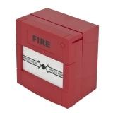 Buton aplicabil din plastic, pentru iesire de urgenta culoare rosie, nu necesita sticla, revenire cu cheie Accesorii: ABK-900++ ABK-90RC