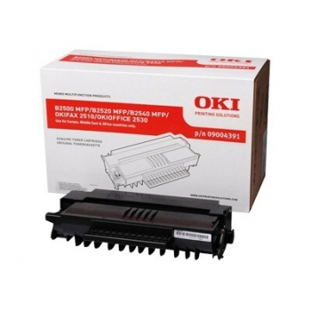 Cartus Toner Oki 9004391 Black 4000 Pagini for B2500MFP, B2520MFP, B2540MFP