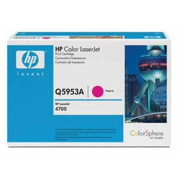 Cartus Toner HP Nr. 643A Magenta 10000 Pagini for Color LaserJet 4700, 4700DN, 4700DTN, 4700N Q5953A
