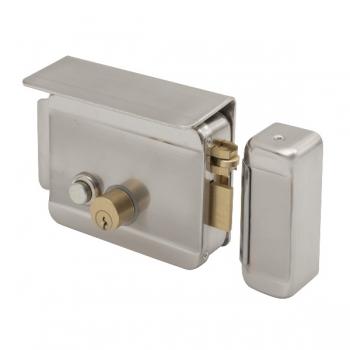 Yala electromagnetica aplicabila SX-11L cu buton pentru exterior Deschidere electrica sau manuala