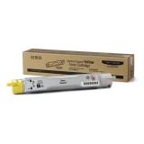 Cartus Toner Xerox 106R01075 Yellow Standard Capacity 4000 Pagini for Phaser 6300, Phaser 6350