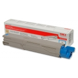 Cartus Toner Oki 43459331 Cyan High Capacity 2500 Pagini for C3300N, C3400N, C3450N